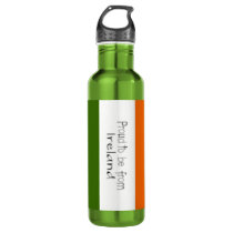 Proud to Be from Ireland Water Bottle (24 oz)