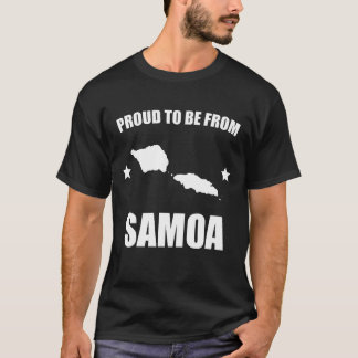 Proud To Be From Samoa T-Shirt