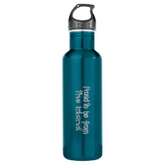 Proud to be from the Island Water Bottle (24 oz) 24oz Water Bottle