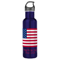 Proud to Be from the USA Water Bottle (24 oz)