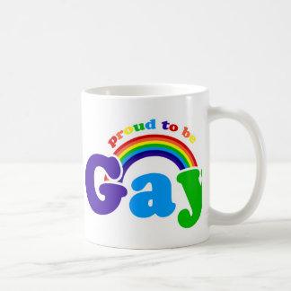 Proud to be GAY Coffee Mug