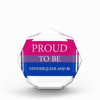 Proud to Be Genderqueer and Bi Award