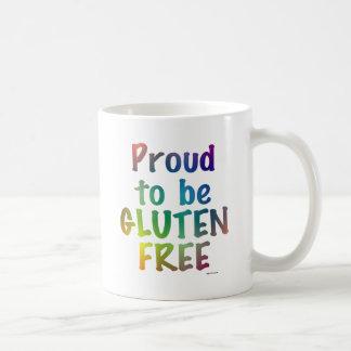 Proud to Be Gluten Free Classic White Coffee Mug