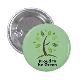 Proud to be Green button