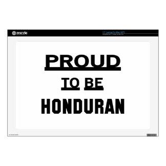 """Proud to be Honduran 17"""" Laptop Decal"""