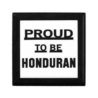 Proud to be Honduran Keepsake Box