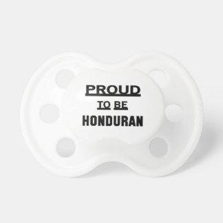 Proud to be Honduran Pacifier