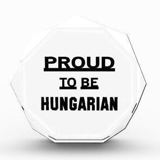 Proud to be Hungarian Award