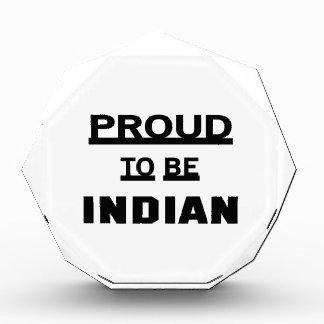 Proud to be Indian Award
