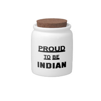 Proud to be Indian Candy Jar