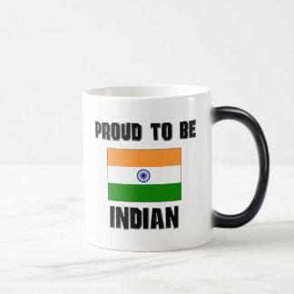 Proud To Be INDIAN Magic Mug