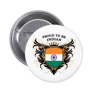 Proud to be Indian Pinback Button
