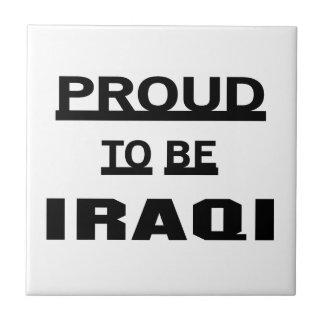 Proud to be Iraqi Tile