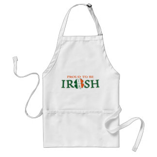 Proud to be Irish Adult Apron