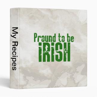 Proud to be Irish Binder