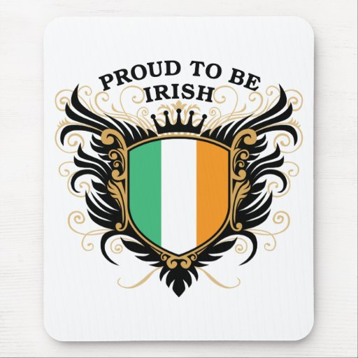 Proud to be Irish Mouse Pad
