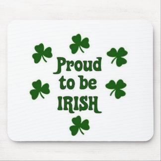 proud to be irish mouse mats