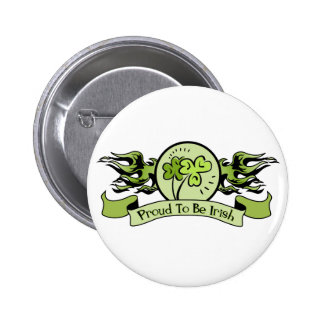 Proud to Be Irish Pinback Buttons