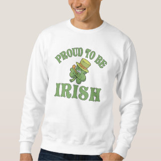 Proud To Be Irish Shamrock Sweatshirt
