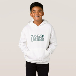 Proud to be Irish, St Patricks Day Celtic Knot Hoodie