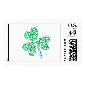 Proud To Be Irish - St Pattys Shamrock Stamp