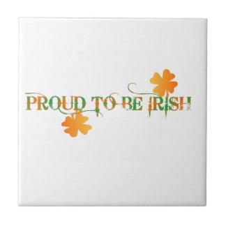 Proud To Be Irish Tile