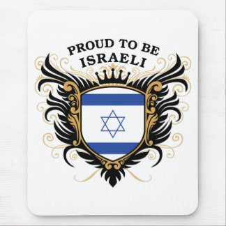 Proud to be Israeli Mouse Pad