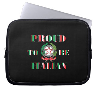 Proud to be Italian Laptop Computer Sleeves