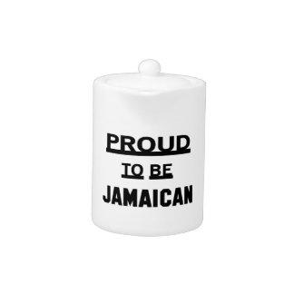Proud to be Jamaican Teapot