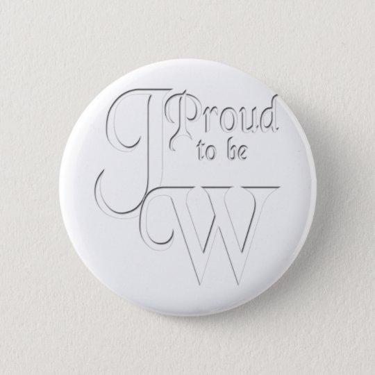 Proud to be Jehovah's Witness Button
