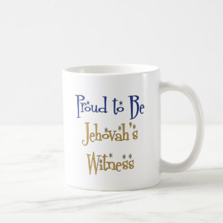 Proud to be Jehovah's Witness Classic White Coffee Mug