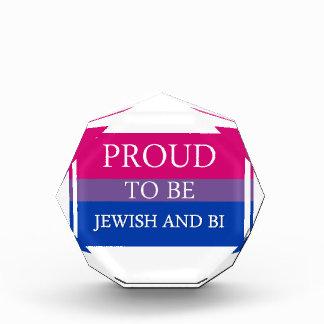 Proud To Be Jewish and Bi Award
