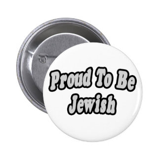 Proud To Be Jewish Button