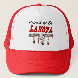 Proud To Be Lakota Hat