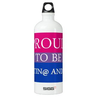 Proud to be Latin@ and Bi SIGG Traveler 1.0L Water Bottle