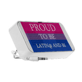 Proud to be Latin@ and Bi Mp3 Speakers
