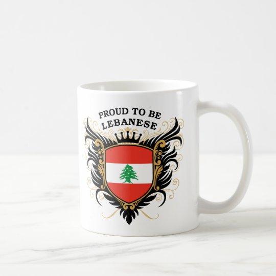 Proud to be Lebanese Coffee Mug