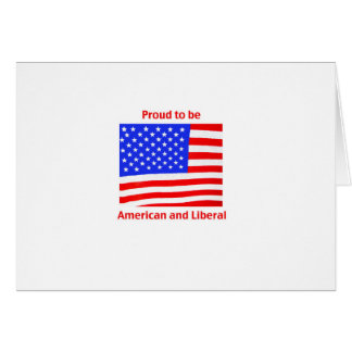 Proud to be Liberal Card