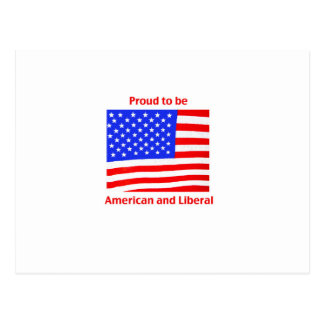 Proud to be Liberal Postcard