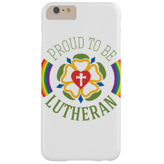 """""""Proud to be Lutheran"""" iPhone 6 Plus case"""