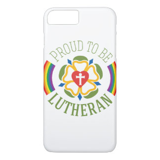 """Proud to be Lutheran"" iPhone 7 Plus case"
