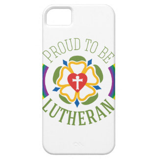 """Proud to be Lutheran"" Slim iPhone 5/5S Case"