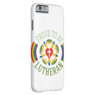 """""""Proud to be Lutheran"""" slim iPhone 6 case"""