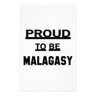 Proud to be Malagasy Stationery