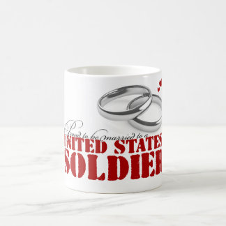 Proud to be married coffee mug