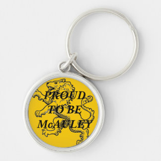Proud To Be McAuley Keychain