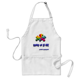 Proud to be me adult apron
