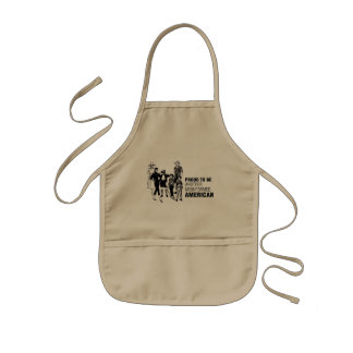 Proud To Be Misinformed American Kids' Apron