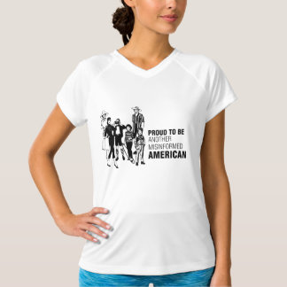 Proud To Be Misinformed American T-Shirt