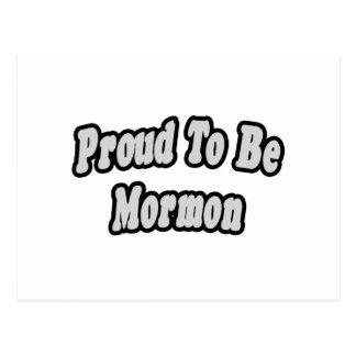 Proud To Be Mormon Postcard